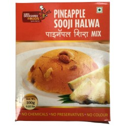 Pineapple Sooji Halwa (पायनॅपल शिरा) 200gm