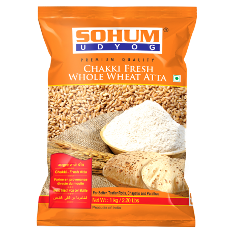 Chakki Fresh Whole Wheat Atta