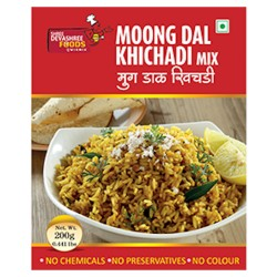 Moong Dal Khichadi Ready Mix by Devashree Foods (200gm)
