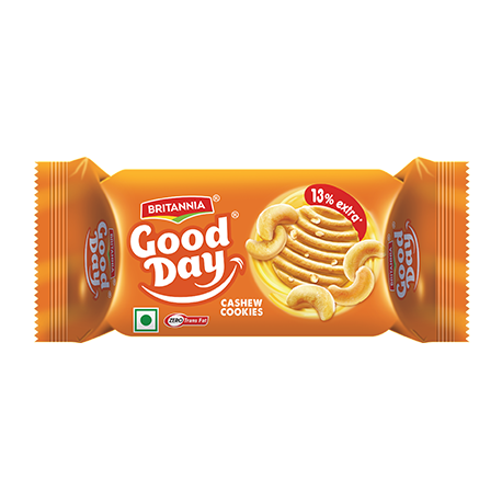 Britannia Good Day Biscuits (Cashew) - 72 gm