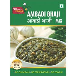 Ambadi Bhaji / Flaxseed (महाराष्ट्रीयन आंबाडी भाजी) Ready Mix by Devashree Foods (100gm)